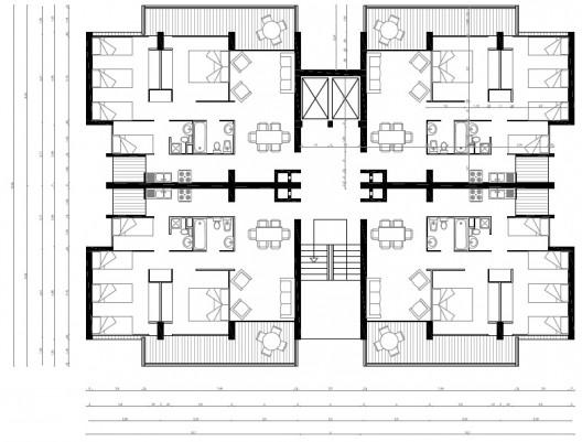 Tr mites en barranquilla for Edificio de departamentos planos
